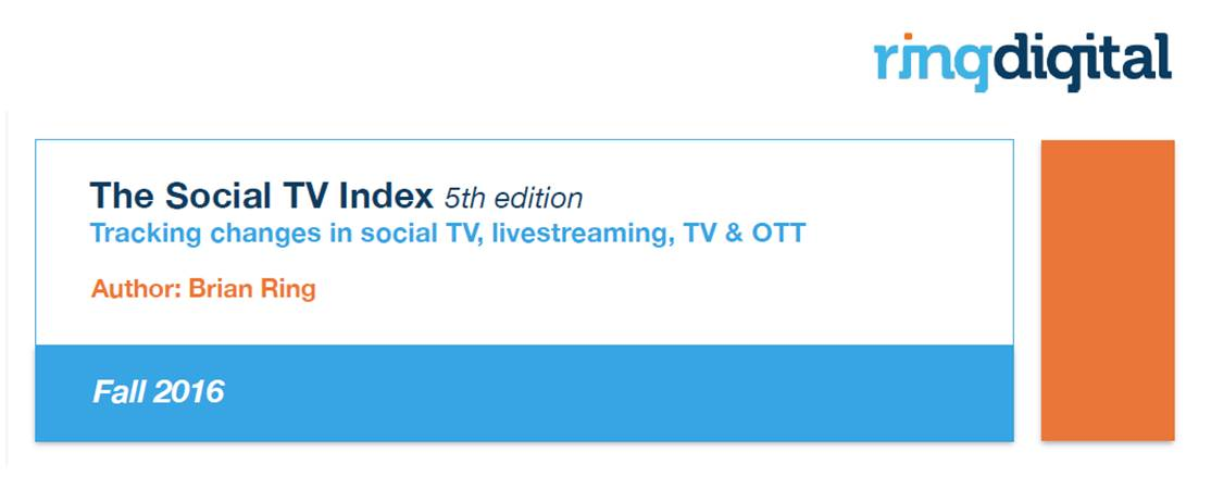 The Social TV Index 5th Edition